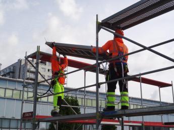 Szkolenie dla montażystów rusztowań budowlanych